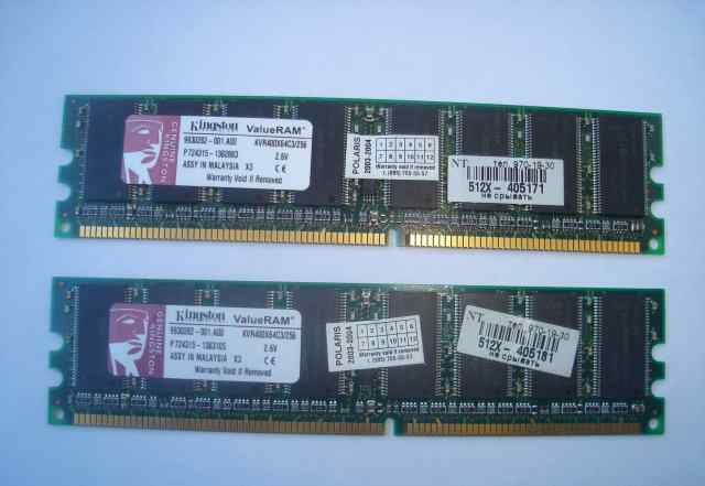 Память Kingston DDR PC3200
