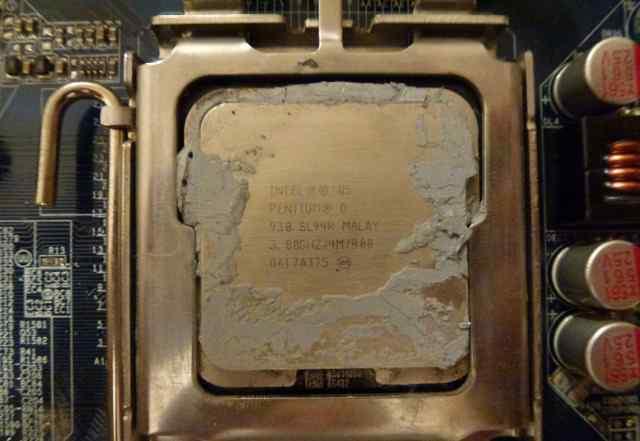 Intel Pentium D 930 Presler (3000MHz, LGA775)