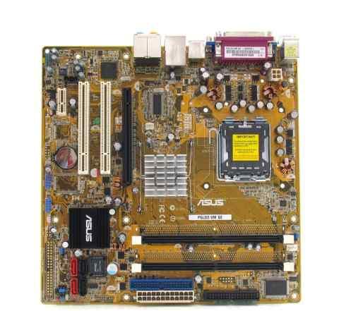 Gigabyte GA-K8N (S.754) / Asus P5LD2-VM (S.775)