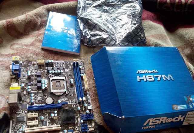 Asrock H67M s 1155