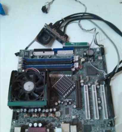 Мат. плата Socket 478 Asus P4SD rev 1.07