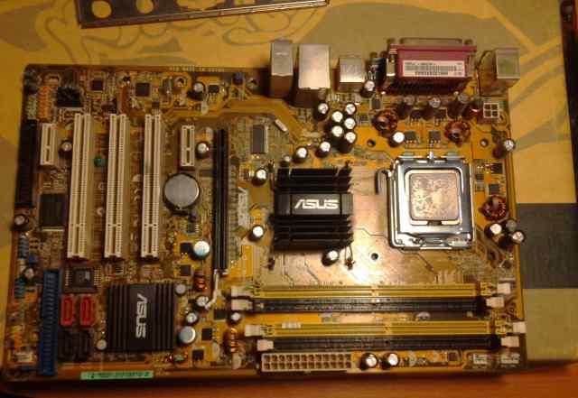 Asus P5PL2+ Intel Pentium 4 531, 3000 MHz