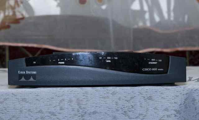 Adsl маршрутизатор Cisco 827-4V