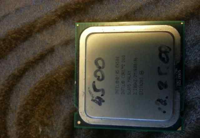Intel core 2 duo e4500 сокет 775