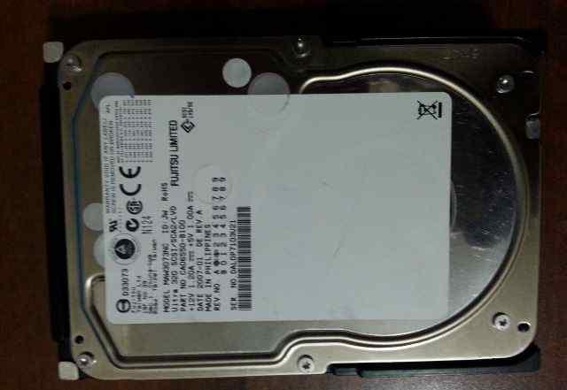 Жесткий диск scsi Fujitsu MAW3073NC