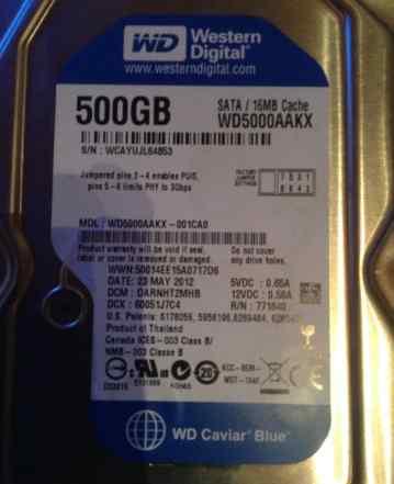 Жесткий диск WD500