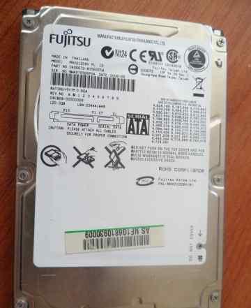 Fujitsu 2.5 SATA рабочий