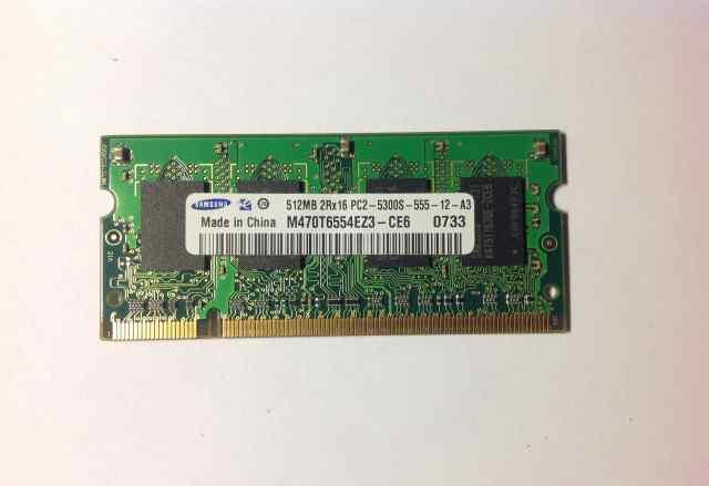 Samsung SO-dimm DDR2 512MB