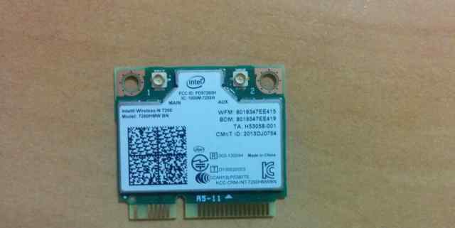 Intel wireless-n 7260 WiFi + Bluetooth
