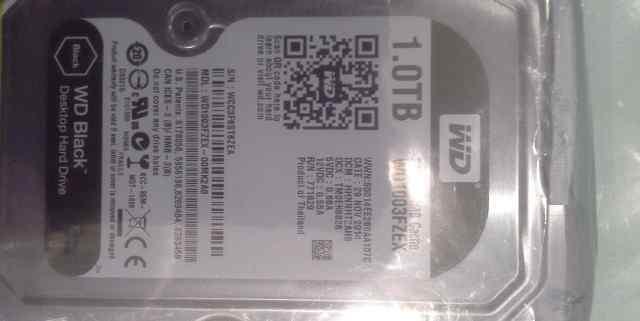 Жесткий диск HDD 1tб western digital black
