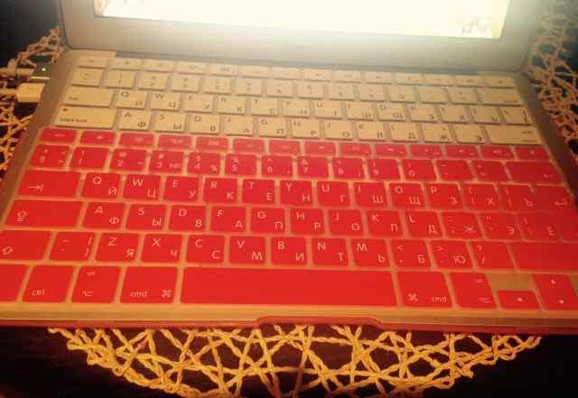 Силиконовая накладка на клавиатуру mac air 11, 13