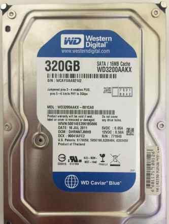 HDD для компьютера WD 320Gb SATA
