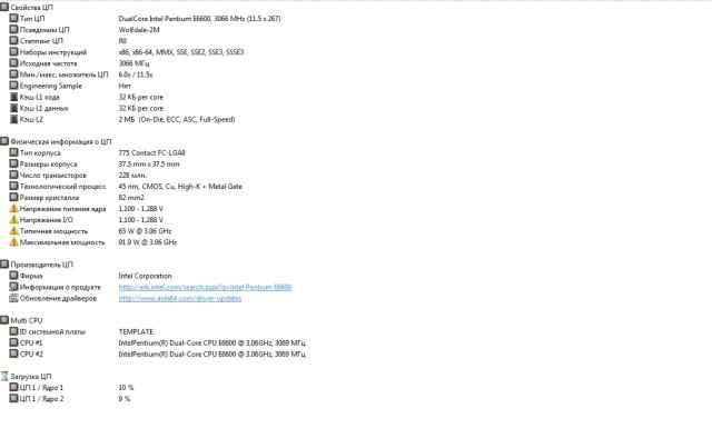 Intel pentium dual-core e6600 3.06ghz/2mb/1066mhz