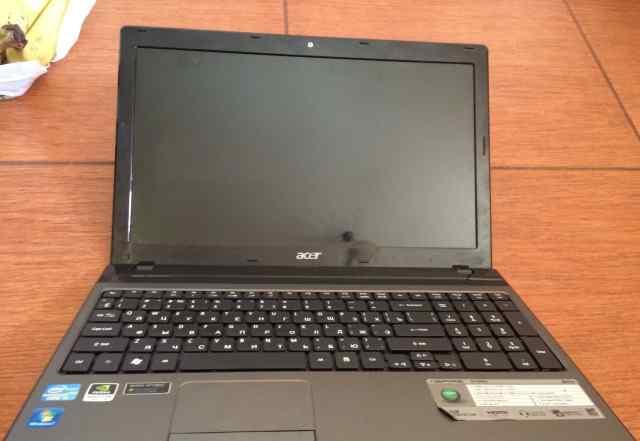 Игровой ноутбук Acer 5750G i5