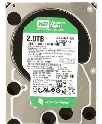 Жесткий диск 3.5 Western Digital 2 Tb
