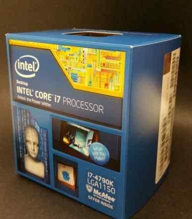 Intel Core i7 4790K в коробках, не открывали