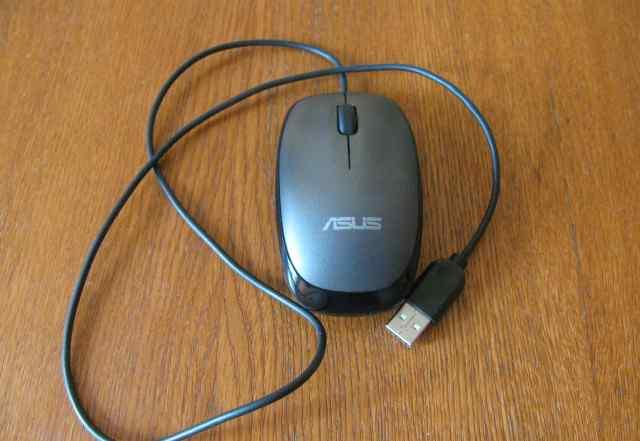 Проводная оптическая мышь Asus