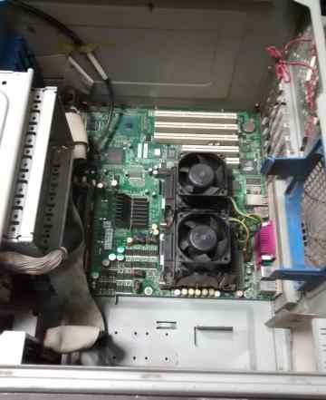Сервер дуал ксеон 4г памяти
