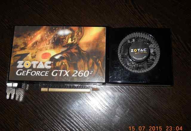 Видеокарта Zotac GTX 260 896Mb 448bit
