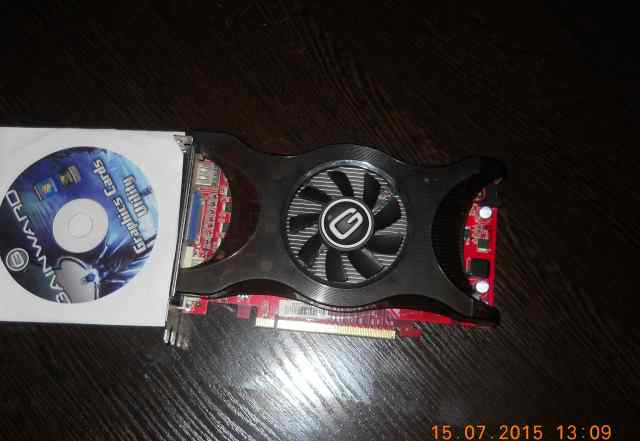 Видеокарта nvidia GTS 250 1Gb 256 bit