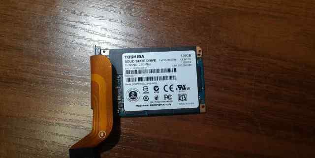 Thoshiba SSD 128GB micro-SATA U-SATA