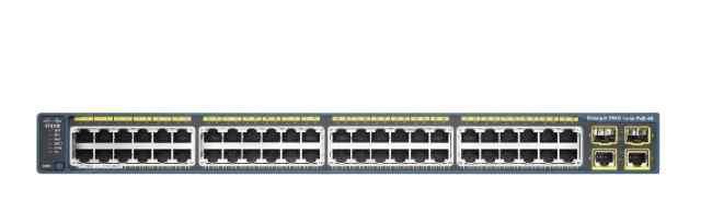 Cisco Catalyst 2960 48 10/100 PoE + 2 1000BT + 2 S
