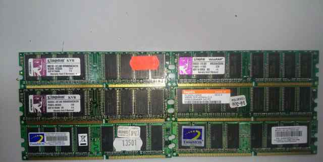 DDR400 PC3200 256Mb