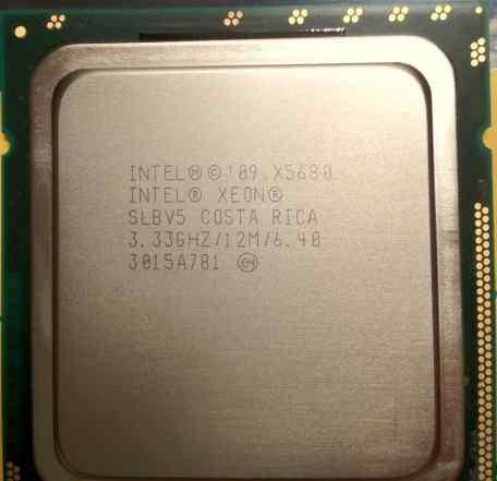 Процессор Intel Xeon X5680 3.3 ггц LGA1366