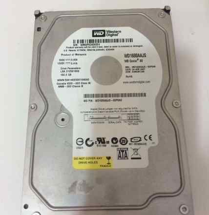 Жесткий диск Western Digital 160Gb