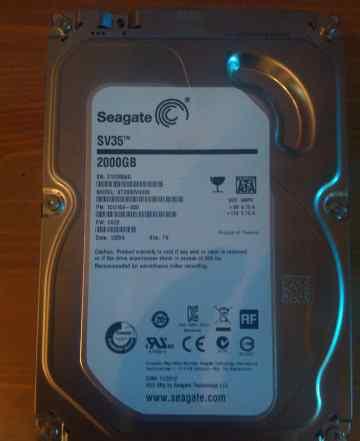 Seagate ST2000VX000, 2 TB