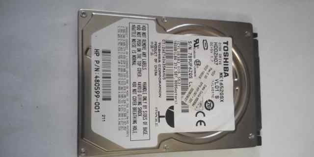 жёсткий диск для ноутбука 160 GB toshiba