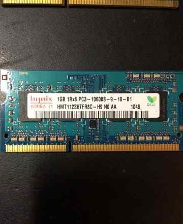 So-dimm Hynix ddr3 10600 1gb