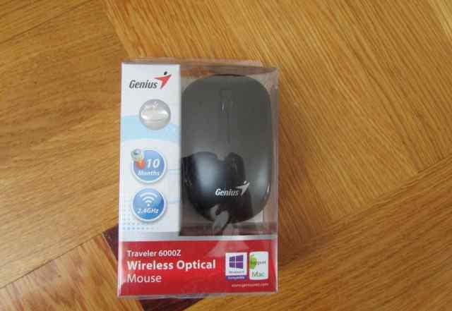 Беспроводная мышь Genius Traveler 6000Z Black USB