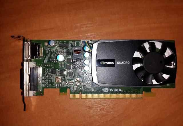 Видеокарта для сапр. Nvidia Quadro 600 1Gb