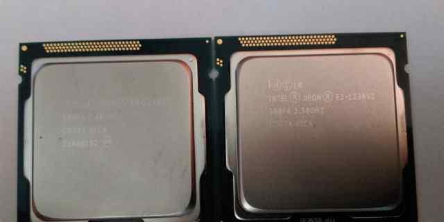 Процессор Intel Xeon E3-1230V2