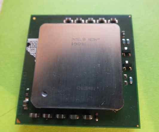 Процессор Intel Xeon 2.00 GHz, 512K 533 MHz S604