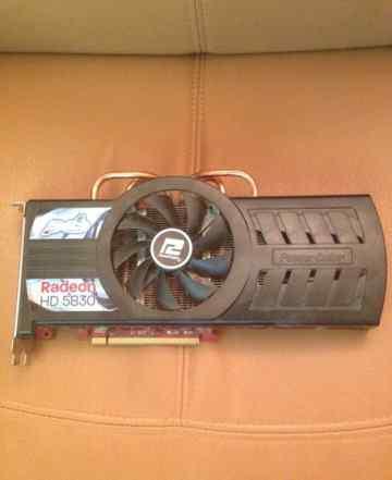 Видеокарта Radeon HD 5830
