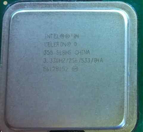 Intel Celeron D 355 Prescott
