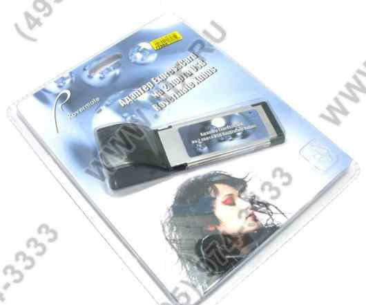 Адаптер expresscard на 2 порта usb rovermate xubus