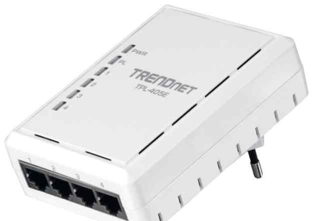 4-портовый адаптер Powerline AV 500 Мбит/с TPL-405