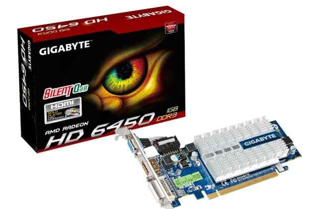 Видеокарта Gigabyte ATI Radeon HD 6450 512Mb DDR3