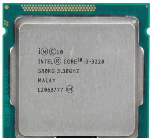 Intel core i3-3220 Ivy Bridge (3300MHz, LGA1155)