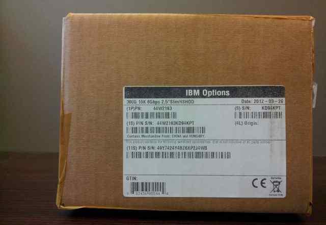 44W2193 IBM 300Gb 10K 6Gbps 2.5