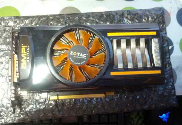 Видеокарта Geforce Zotac GTX460 AMP Edition 1GB