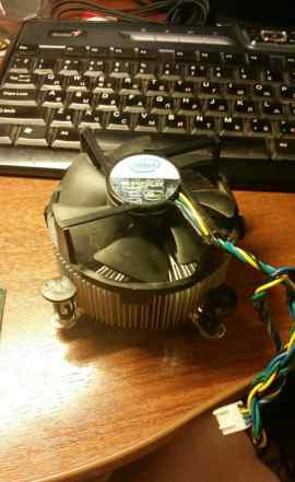 Процессор intel core 2 duo с боксовым кулером под