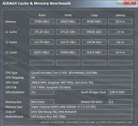 Intel Core i7-920 Bloomfield LGA 1366