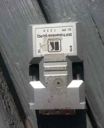 Оптический удленитель DVI