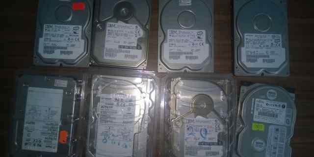8 жёстких дисков