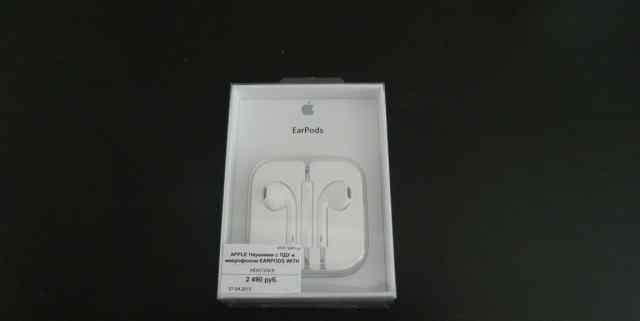 Наушники EarPods от Apple