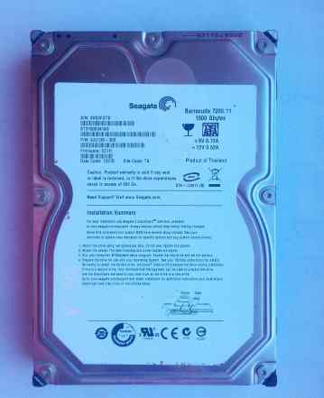 Seagate Baracuda 7200.11 ST31500341AS (1.5тб)